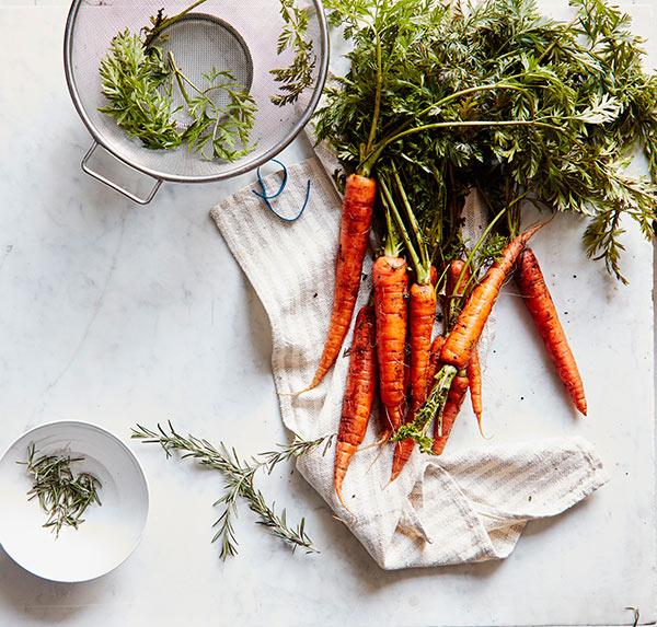 Beta carotene in carrots